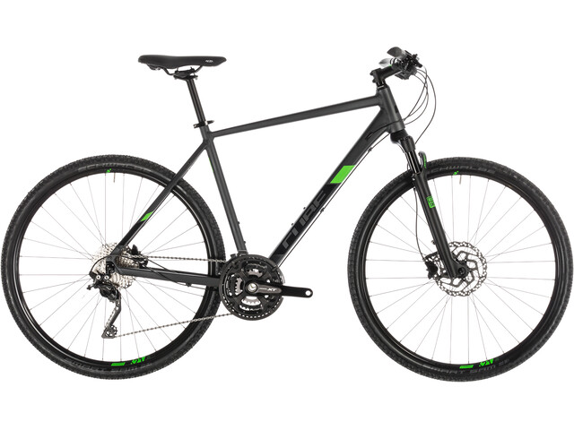 Cube Cross Pro Hybridcykel grå